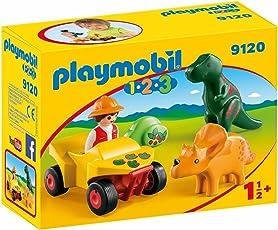 Playmobil Construction Game Explorer with Dinos