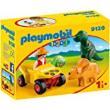Playmobil 9120 1.2.3 Explorer with Dinosaur
