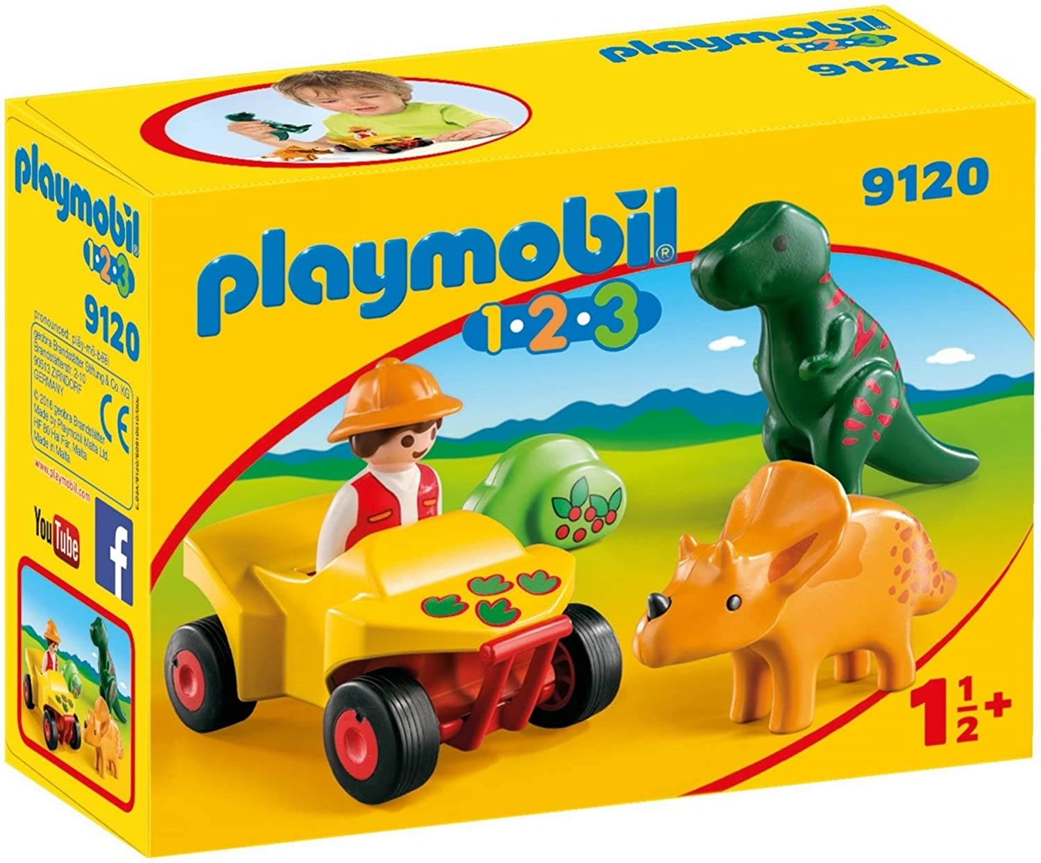 PLAYMOBIL Explorer with Dinos Building Set