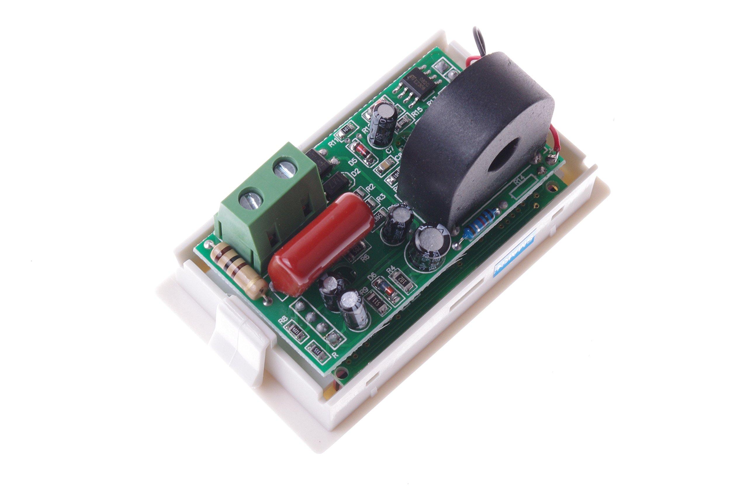 SMAKN AC 200-500V/50A Digital LCD Display Voltmeter Amperemeter Volt Gauge+Current Measure Sense Resistor by SMAKN (Image #5)