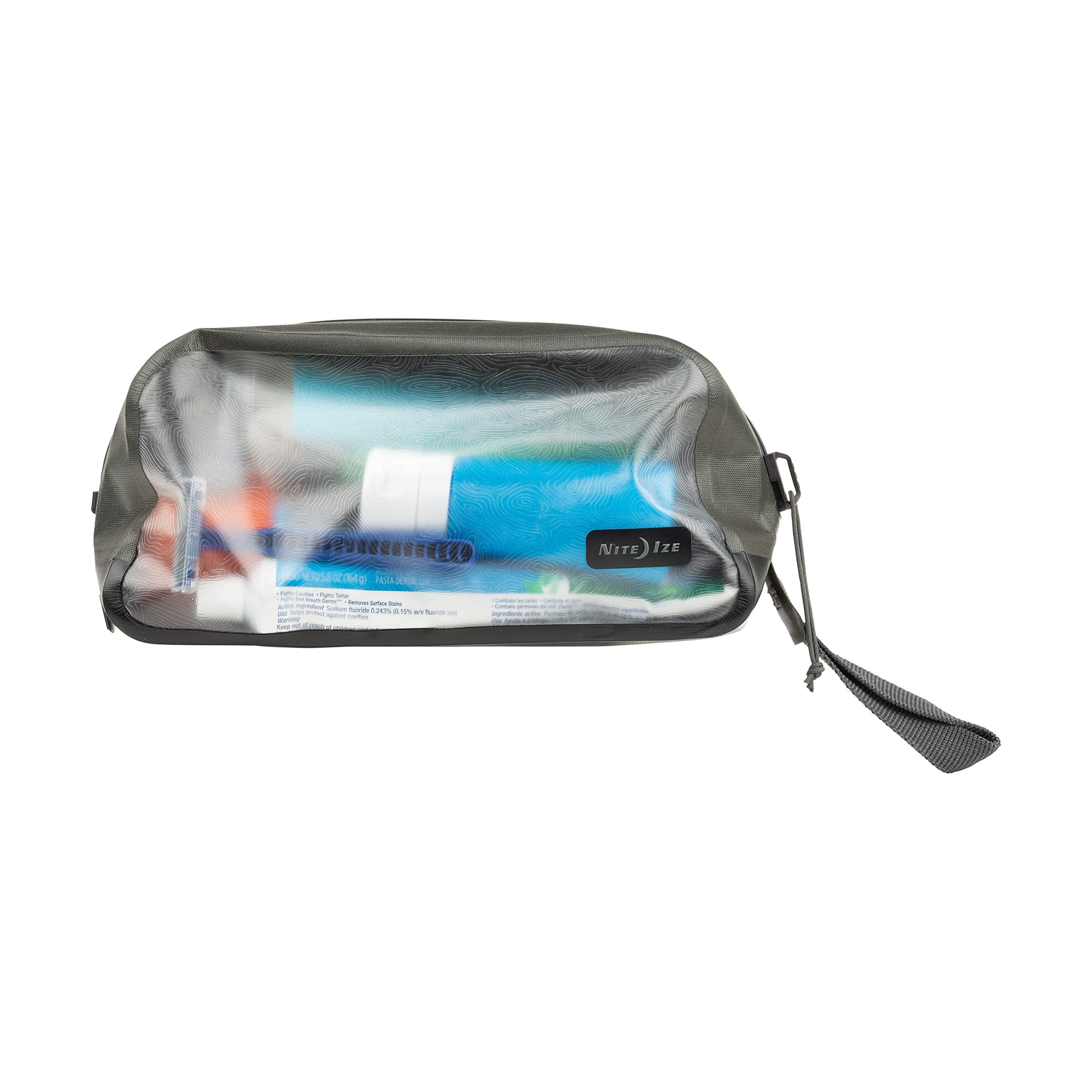 Nite Ize Runoff Waterproof Toiletry Bag, Full-Size Waterproof Hanging Toiletry Bag. Tough Trusted Protection for Adventure Travel by Nite Ize