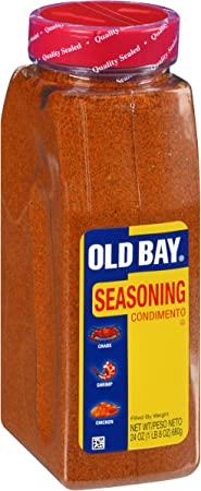 Image ofMccormick Old Bay Seasoning for Seafood, Poultry, Salads, Meats in Large Restaurant Food Service Size Container