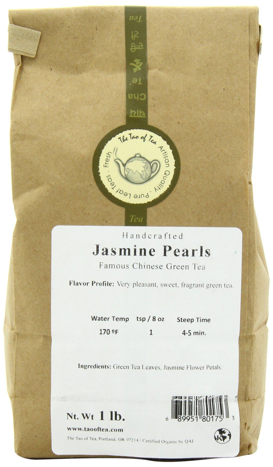 The Tao of Tea Jasmine Pearls, 1-Pounds