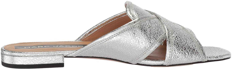 Marc Jacobs Women's Aurora Flat Slide Sandal B075Y5W4Z7 40 M EU (10 US)|Silver