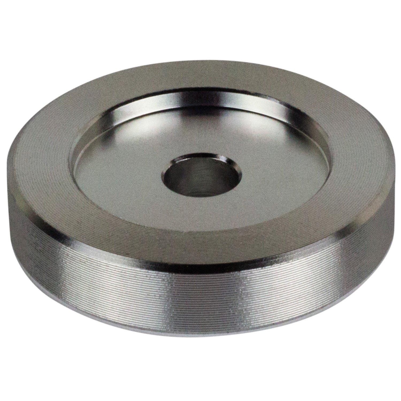 45 RPM Adapter - Aluminum - 7 inch Vinyl Record Dome 45 Adapter DJGEARIX