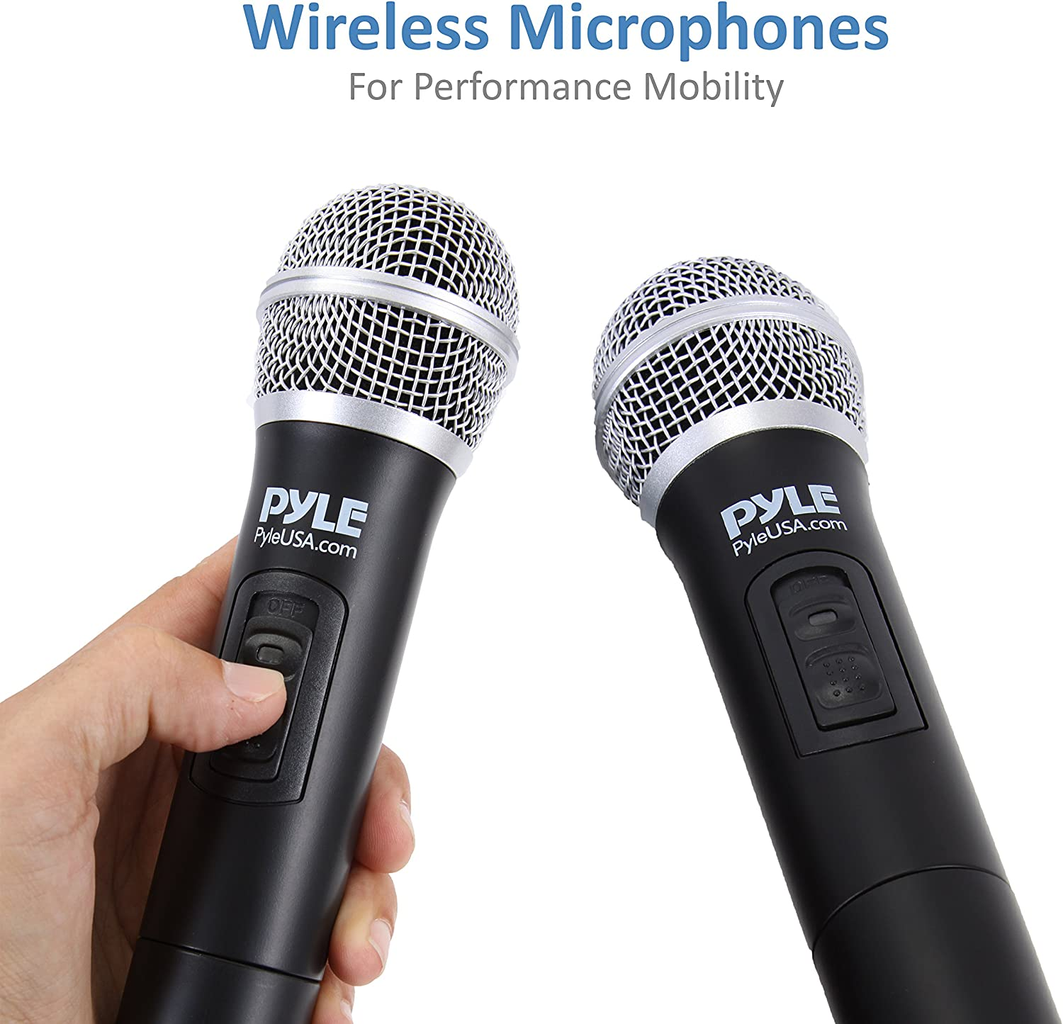 Home Theater with Dual UHF Wireless Mic Speaker Amplifier HDMI ...