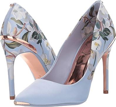 f4c0d3467 Amazon.com  Ted Baker Women s Izbelip Blue Graceful 8 M US  Shoes