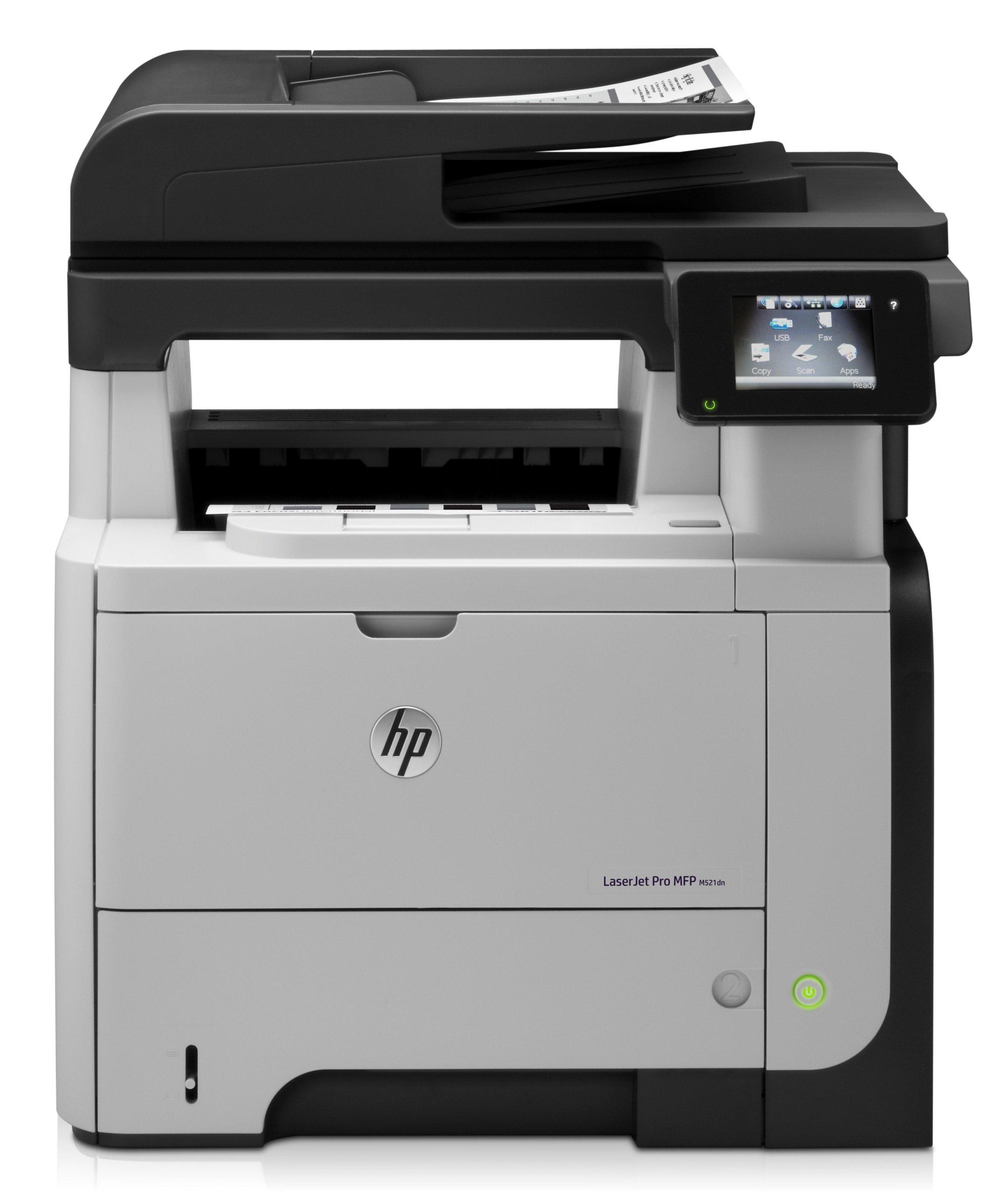 HP LaserJet Pro MFP M521dn Printer, (A8P79A)