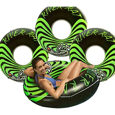 Intex 4-Pack River Rat 48-Inch Inflatable Tubes for Lake/Pool/River | 4 x 68209E: Sports & Outdoors