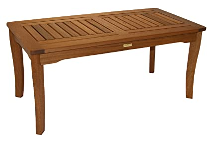 Image Unavailable - Amazon.com : Outdoor Interiors 390070 Eucalyptus Coffee Table