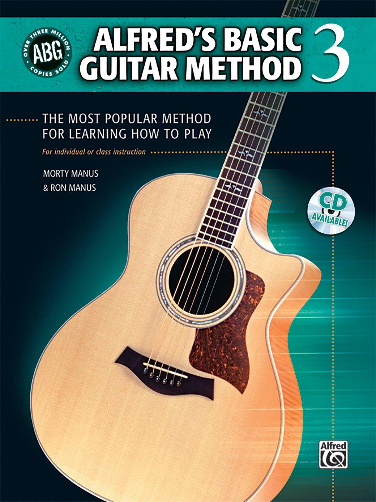 Alfreds Basic Guitar Method Bk 3 The Most Popular Method For