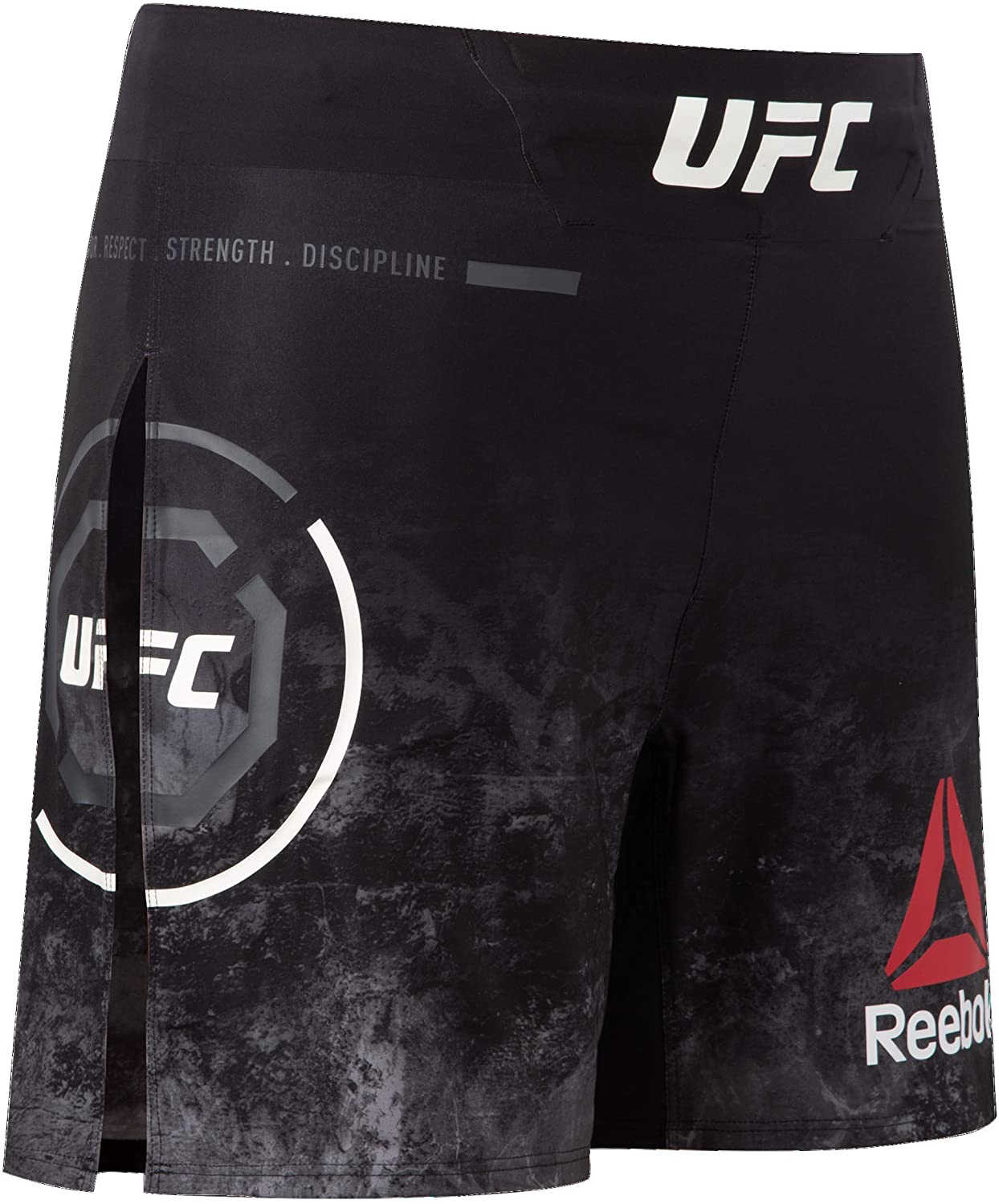 Reebok UFC Mens UFC Fight Night Authentic Gladiator Short