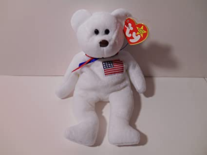 829b4de56f0 Image Unavailable. Image not available for. Color  Ty Libearty Beanie Baby