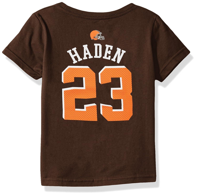 【絶品】 NFL幼児用Joe Haden Cleveland Browns Boys – Mainliner Player Player Cleveland Name半袖Tシャツ B06WD6N5ND、ブラウンスエード、3t B06WD6N5ND, トイスタジアム1号店:a5b7202f --- a0267596.xsph.ru