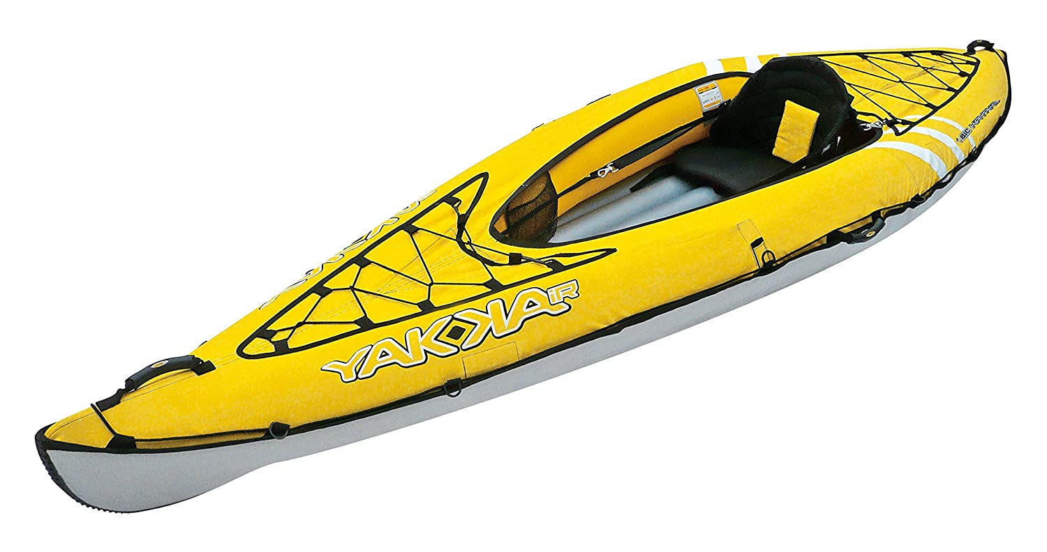 BIC Yakkair Lite 1 - Kayak Hinchable, Color Amarillo, 3.30 m ...