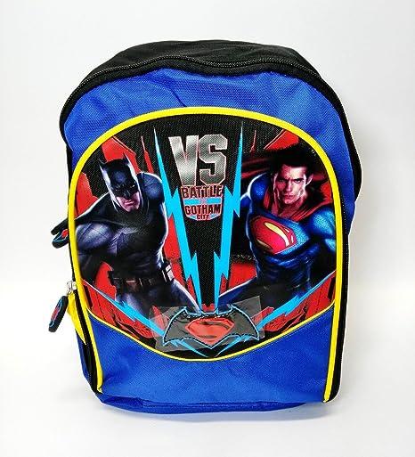 BATMAN VS SUPERMAN MOCHILA ASILO MOCHILA ORIGINAL ESCUELA NUEVA OFERTA DE 2016