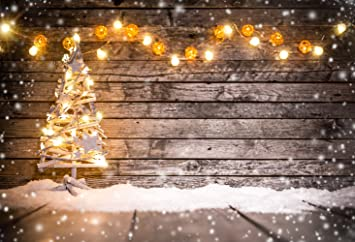 Christmas Backround.Konpon Washable Christmas Backdrop No Wrinkle Seamless Cotton Polyester Photography Backdrop Family Christmas Decorations Photo Props Christmas