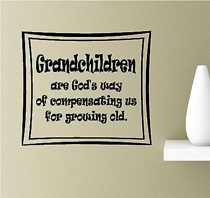 Amazon.com: Grandchildren are God\'s way of compensating us ...