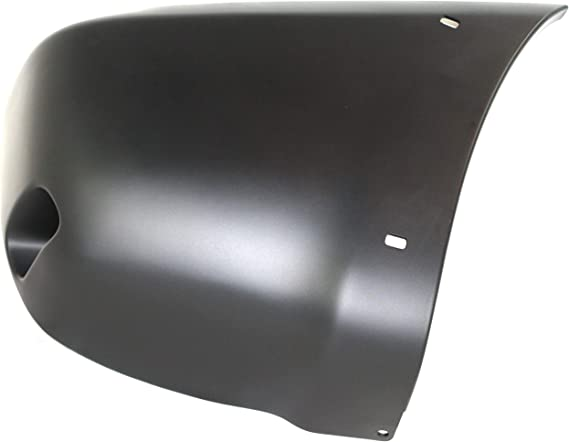 Front Bumper End Compatible with Toyota RAV4 2001-2005 RH Cover Extension Primed with Wheel Opening Flares
