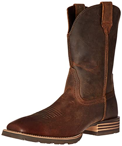 ebf167c1ba8 ARIAT Men s Hybrid Street Side Western Boot Powder Brown Size 7 D Medium Us