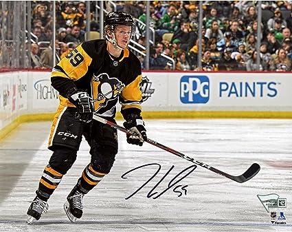 pretty nice d3c94 e4ce5 Jake Guentzel Pittsburgh Penguins Autographed 8