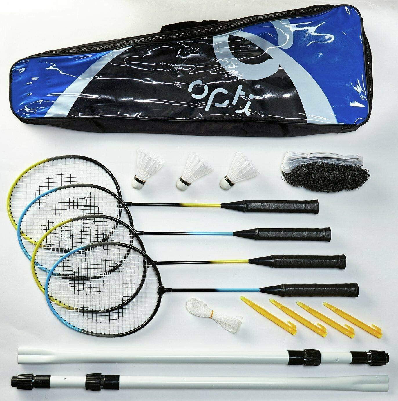 Opti Portable Pop Up Badminton Set