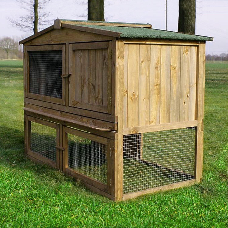 ZooPrimus Kleintier-Stall Nr 02 Kaninchen-Käfig \