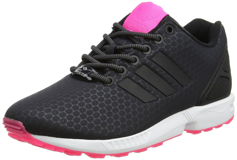 adidas Damen ZX Flux Sneaker Low Hals Schwarz