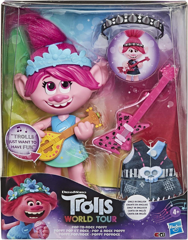 Trolls Grenouill/ère Fille Poppy
