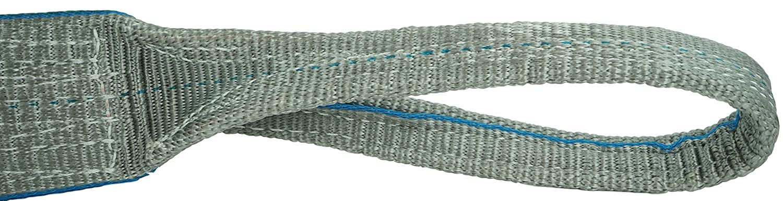 Flo Guard 2 Ply 8900 lbs Vertical USA Made 3 x 10 7200 Choker DD Sling Heavy Duty Polyester Lifting Slings Eye /& Eye 3 x 10 17800 Basket Load Capacity