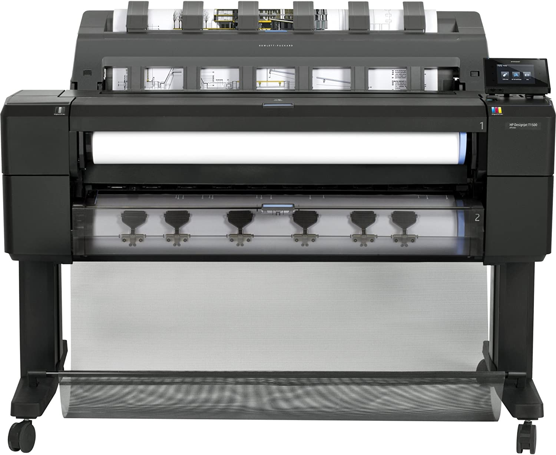 HP Designjet T1500 36-in PS ePrinter - Impresora de gran formato (120 pph, 2400 x 1200 DPI, HP-GL/2, HP-RTL, PCL 3, PDF 1.7, PostScript 3, TIFF, Cian, Gris, Magenta, Negro mate, Photo