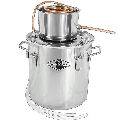 Amazon com: Big Horn 5 Gallon Single Keg Distillation Kit
