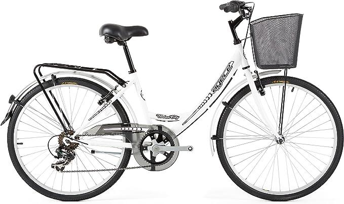 Agece Urban-24 Bicicleta de Paseo, Niñas, Blanco, XS: Amazon.es ...