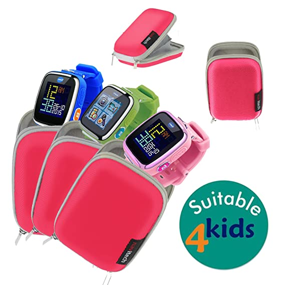 Amazon.com: Navitech Pink Hard Protective Watch / Wristband ...