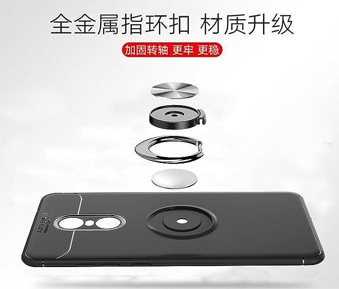 Amazon.com: Xiaomi Redmi Note 4 x Funda, DAMONDY Fibra de ...