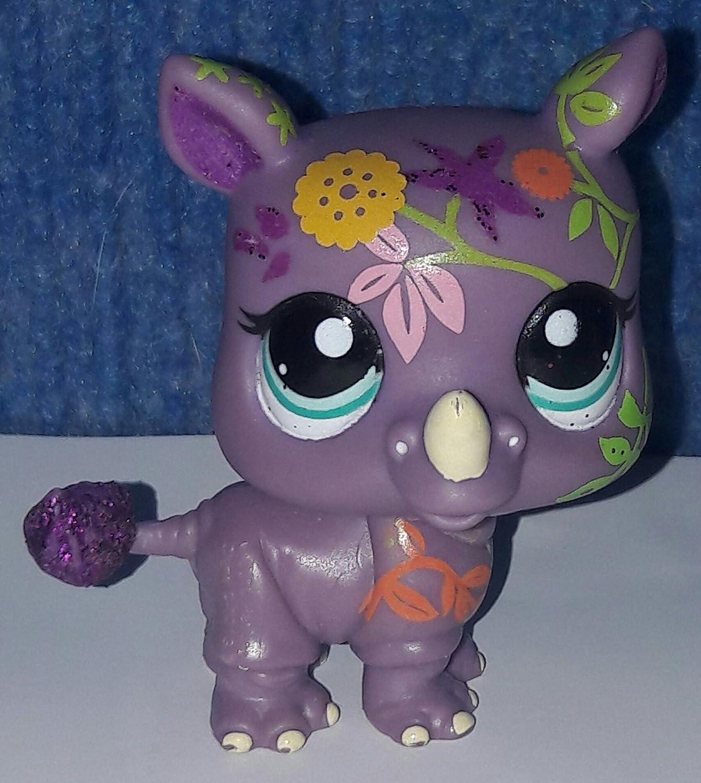 Littlest Pet Shop Shimmer N Shine Figure 2342 Rhino by Littlest Pet Shop