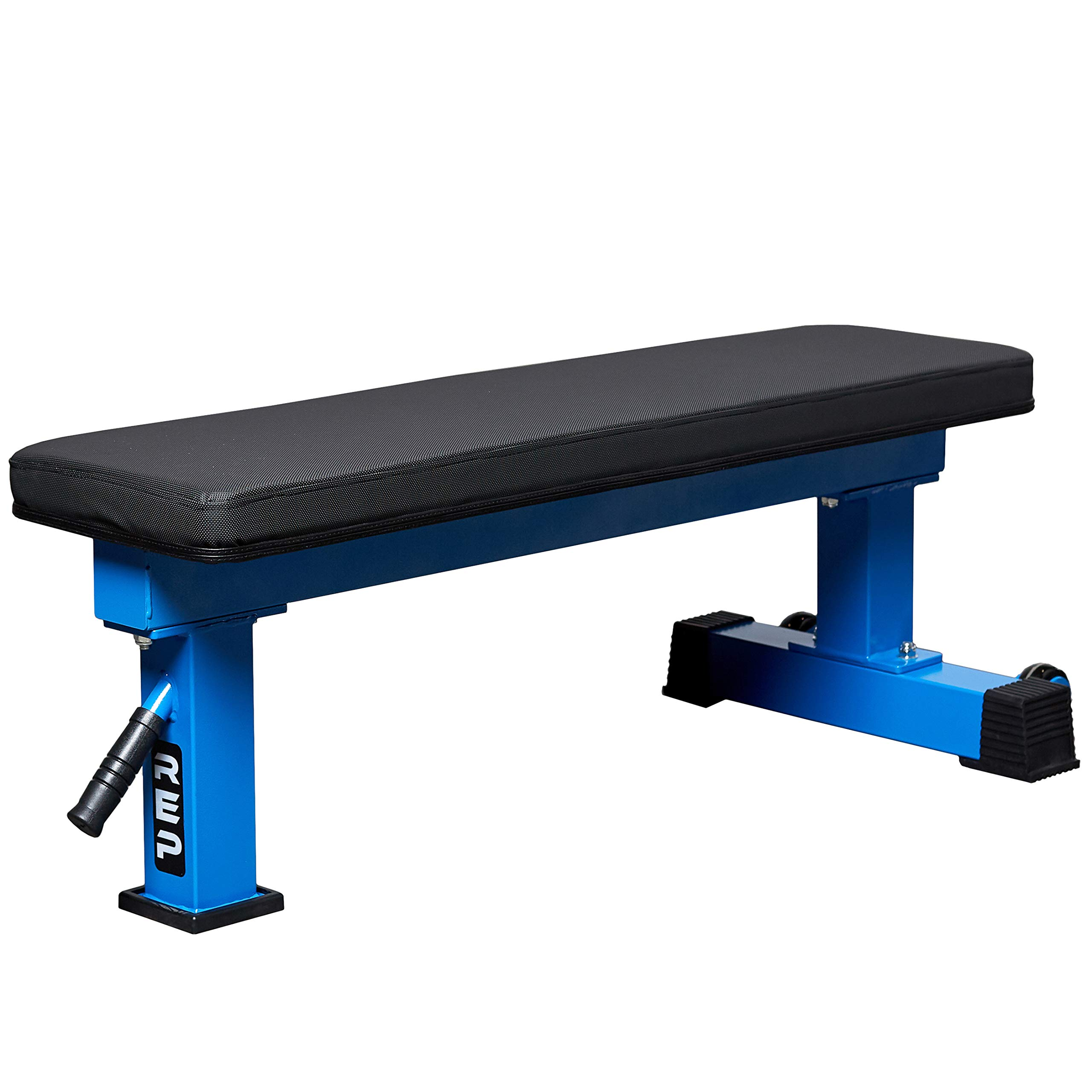 REP FITNESS FB-4000 Competition Light Flat Bench - Blue by REP FITNESS