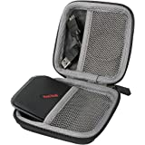 for SanDisk Extreme 500 510 Portable SSD External Solid State Drive 120GB 240GB 480GB 500GB 1TB Shockproof Hard Storage Carry Travel Case Bag by co2CREA