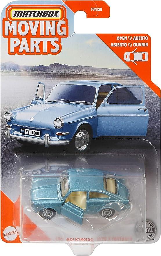 Matchbox FWD28 Spielzeugautos mit beweglichen Teilen Sortiment, Spielzeug ab 3 Jahren