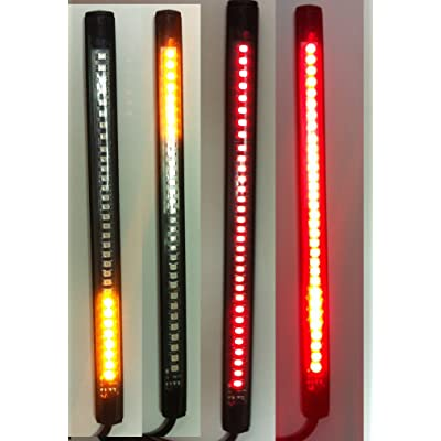 Motorcycle LED Turn Signal Tail Brake Integrated Light: Automotive