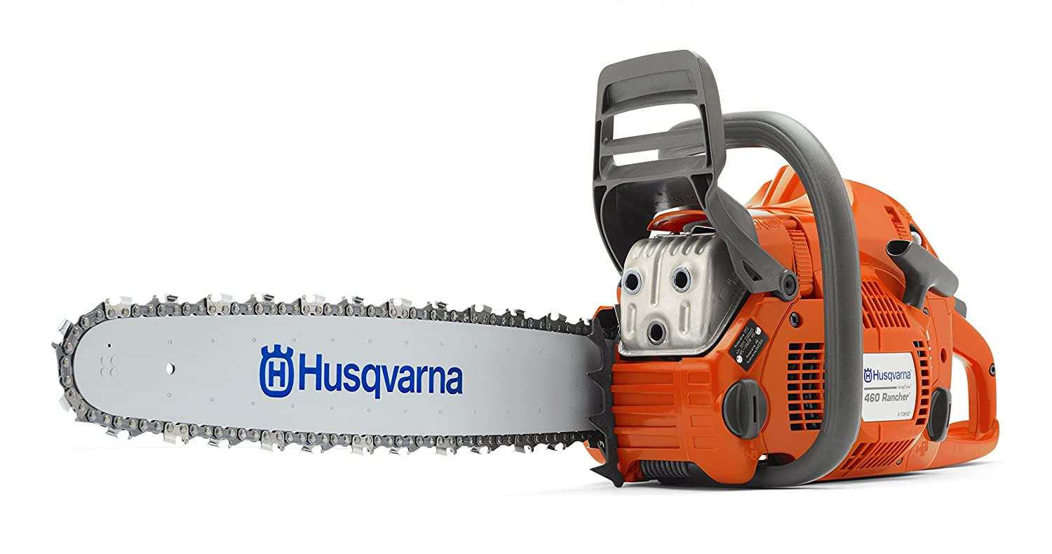 Amazon.com : Husqvarna 460 Rancher, 24 in. 60.3cc 2-Cycle Gas Chainsaw :  Power Chain Saws : Garden & Outdoor