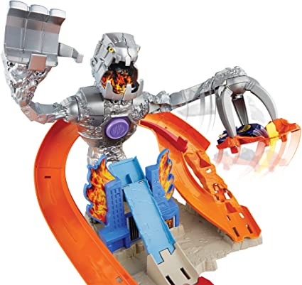 Hot Wheels - Robot Attack (Mattel CDR06): Amazon.es: Juguetes y juegos