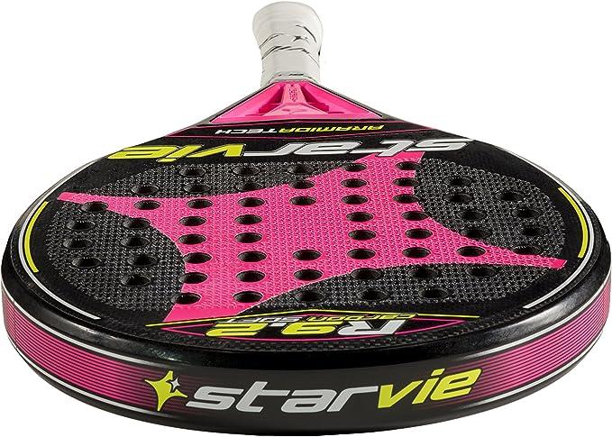 StarVie R 9.2 DRS Soft Pala de pádel, Unisex Adulto, Rosa, 360 ...
