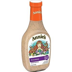 Annie's Natural Goddess Salad Dressing, Vegan, Non-GMO, 16 fl oz
