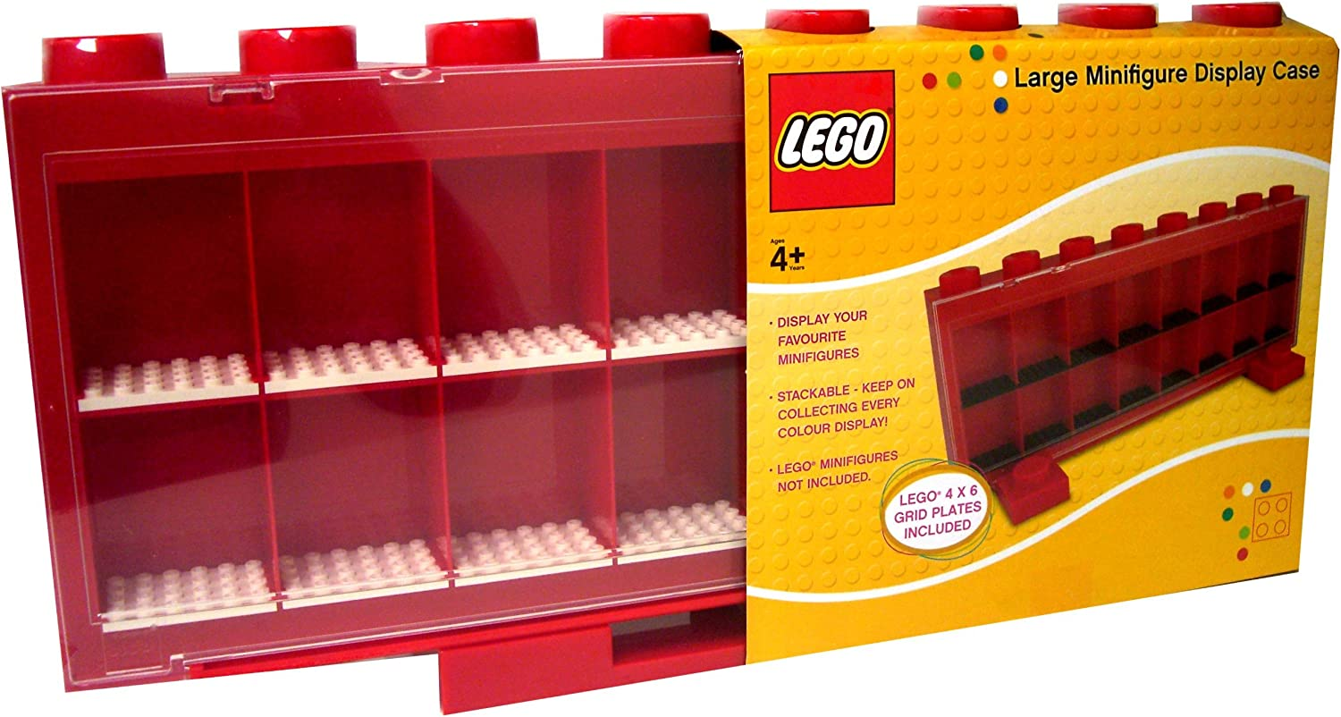 LEGO Mini Figure Display Case (Red)
