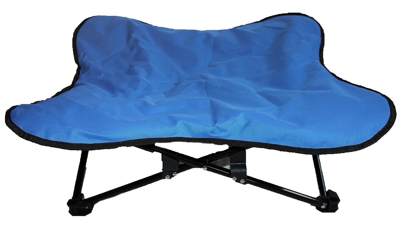 Glenndarcy - Letto imbottito per cani, rialzato, portatile, pieghevole, ideale per campeggio/allenamento Glenndarcy Dog Pants