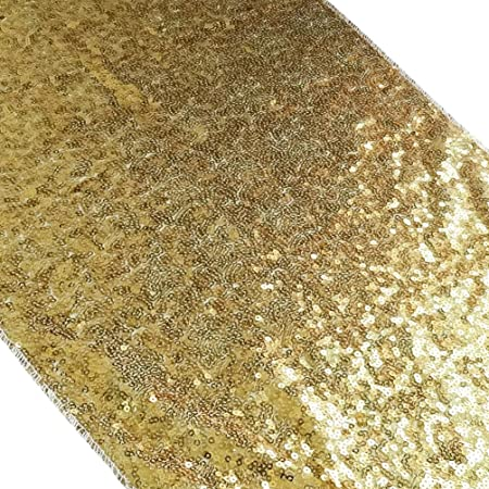Tissu 13x84 33 x 213 cm dor/é San Tungus 80523 Chemin de table