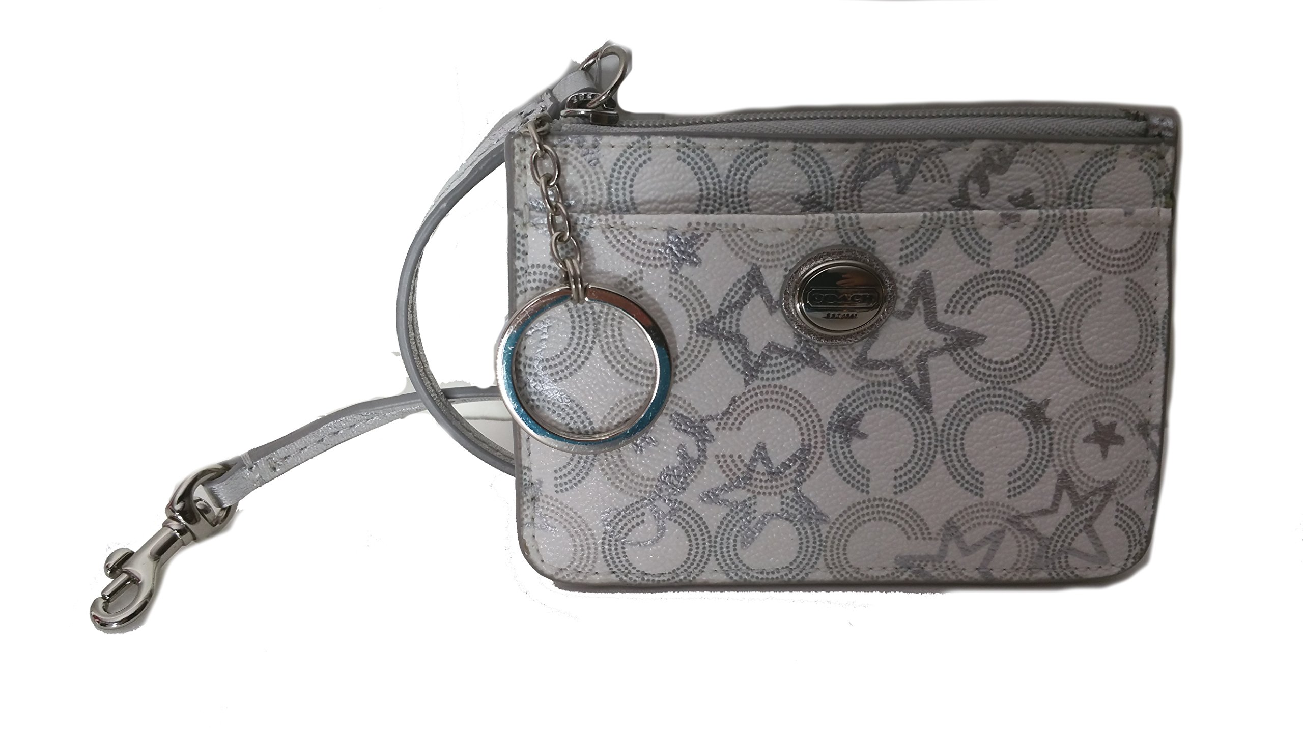 Coach Peyton Snow Queen Print ID's Card Case Keyring Holder by COACH (Image #5)