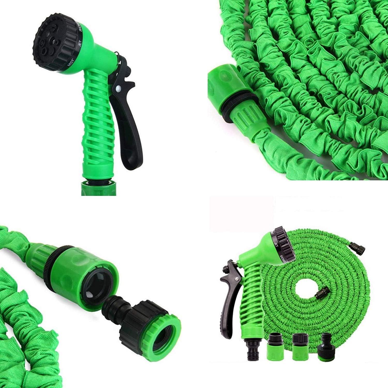 Megaprom - Manguera Flexible de jardín de 10 m con Pistola pulverizadora: Amazon.es: Juguetes y juegos