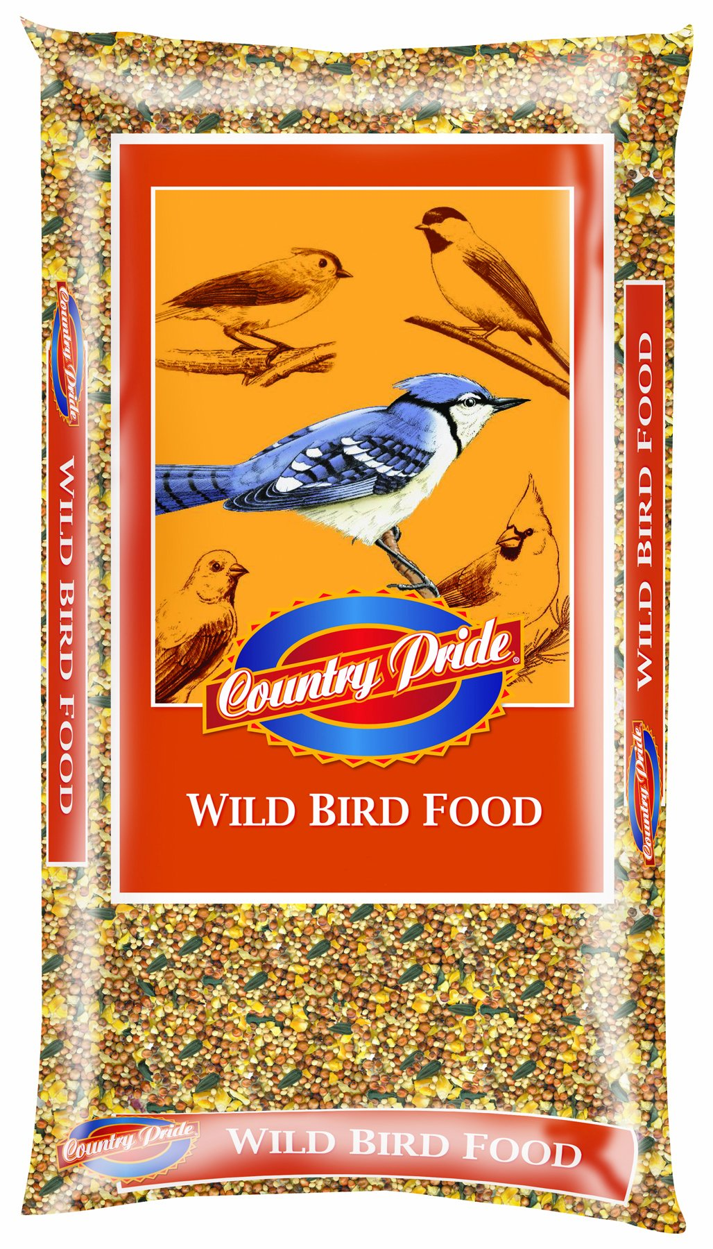Country Pride 11350 Wild Bird Food, 40-Pound by Country Pride